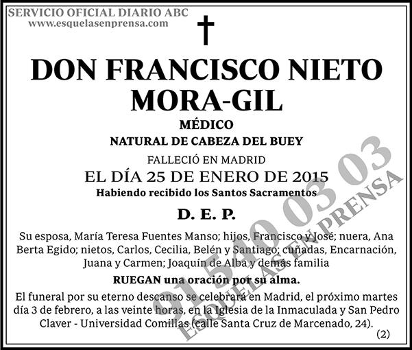 Francisco Nieto Mora-Gil